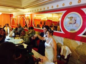 boda salones venecia Teo y Azahara