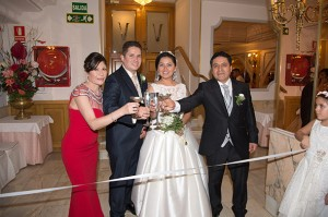 Boda Gina y Christiam Salones Venecia Madrid