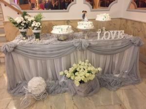 detalle tarta nupcial Salones venecia